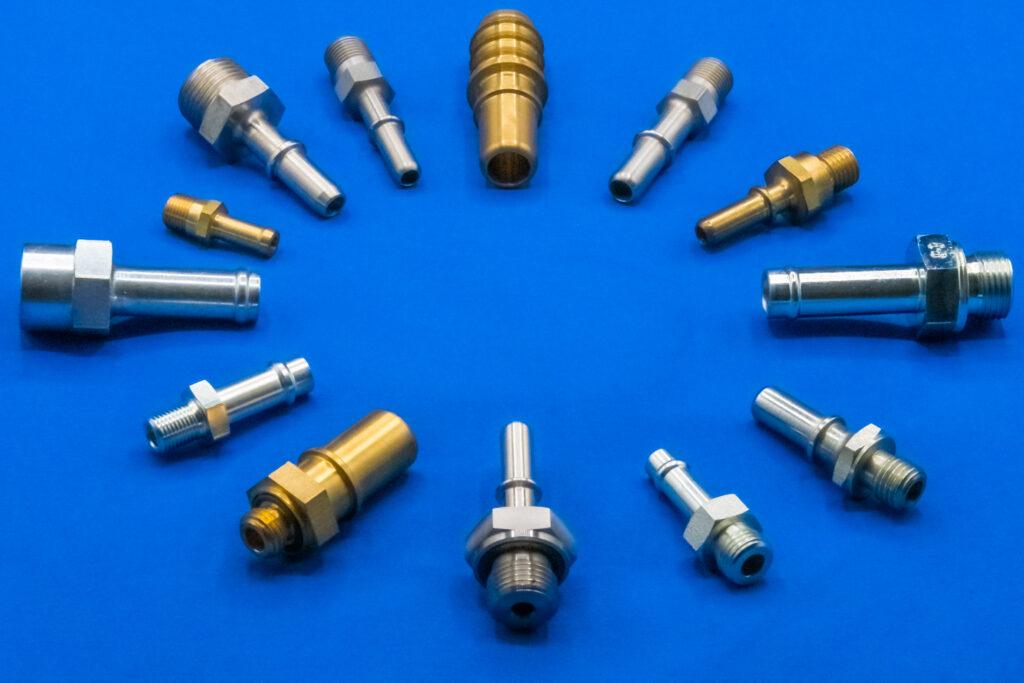 Quick Connectors from Rubbernek Fittings ltd