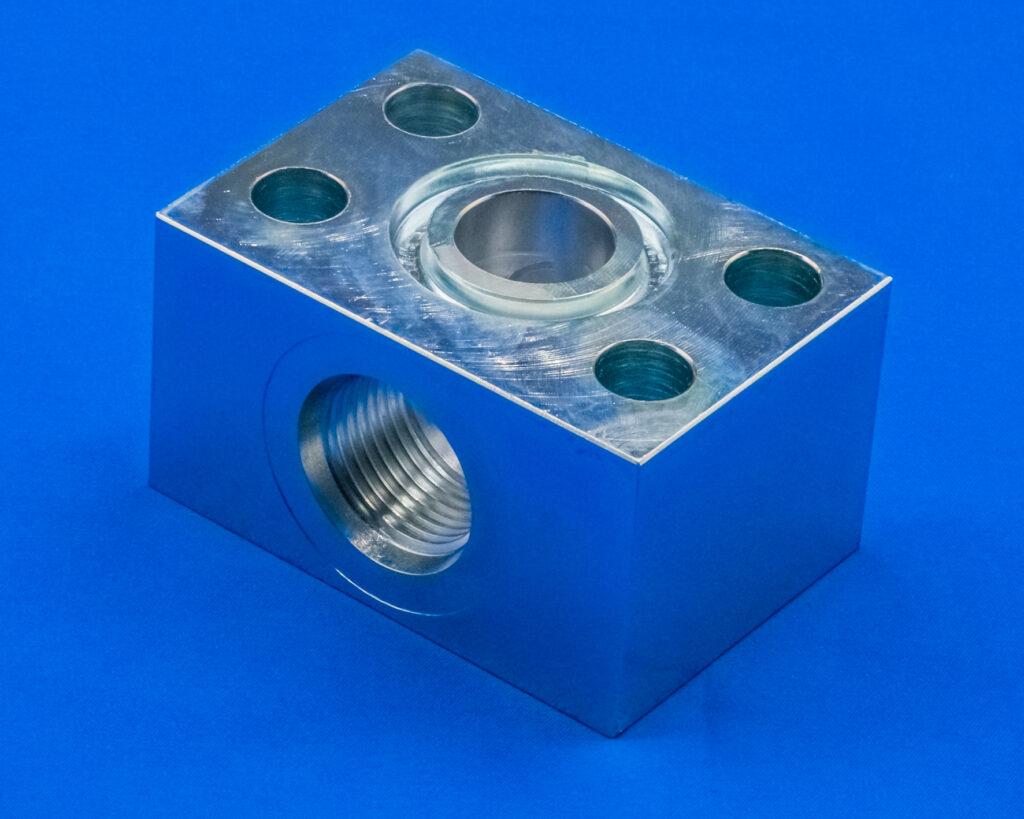 Manifold blocks from Rubbernek Fittings ltd